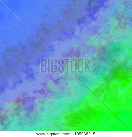 Interesting Uneven Colorful Background Texture With Blue Green Colors Blend