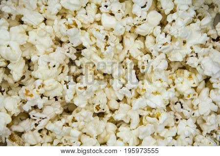 Delicious popcorn sold in theaters every day