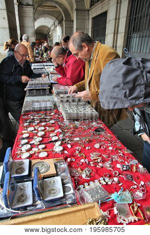 Madrid Collectible Market