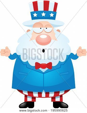 Confused Cartoon Uncle Sam