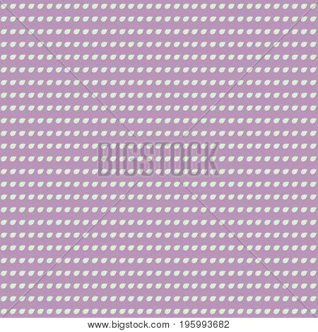 Seamless decorative template texture with leaves. Vector.