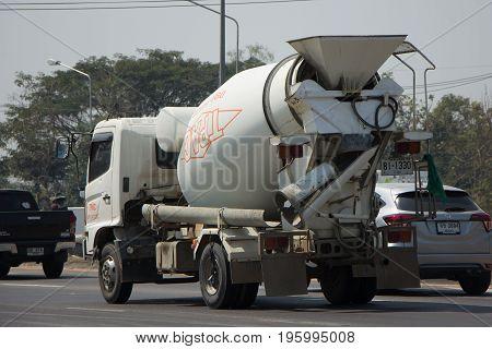 Cement Truck Of Thanachai Company.