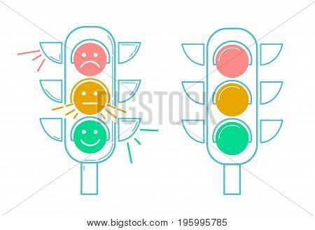 Icon Traffic Light