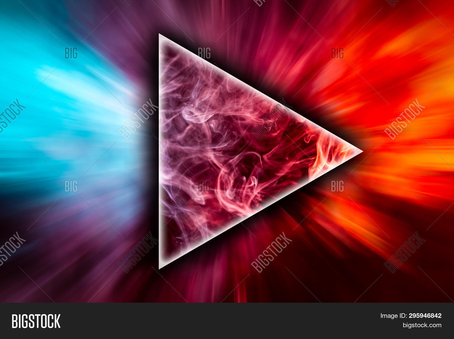 Frozen Abstract Image Photo Free Trial Bigstock