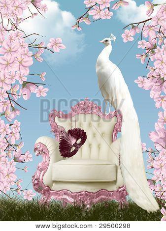 Fairy peacock