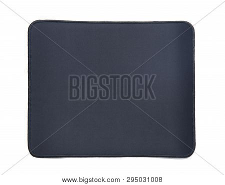 Mouse Pad Isolated On The White Background