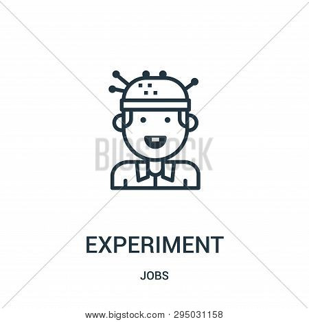 Experiment Icon Isolated On White Background From Jobs Collection. Experiment Icon Trendy And Modern