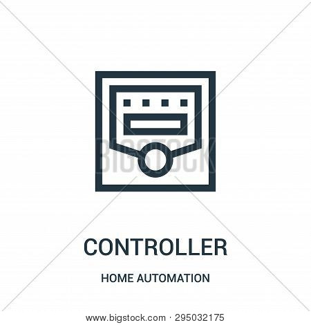 Controller Icon Isolated On White Background From Home Automation Collection. Controller Icon Trendy