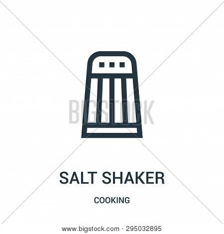 Salt Shaker Icon Isolated On White Background From Cooking Collection. Salt Shaker Icon Trendy And M