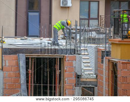 Construction Site Worker Stock Photos Color Images