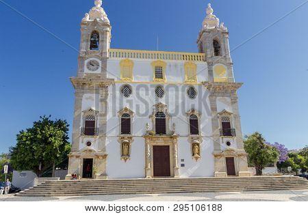 Carmo Church In Faro In Algarve (portugal)