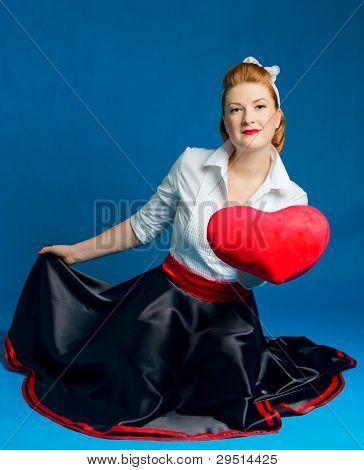 woman heart Valentine's Day