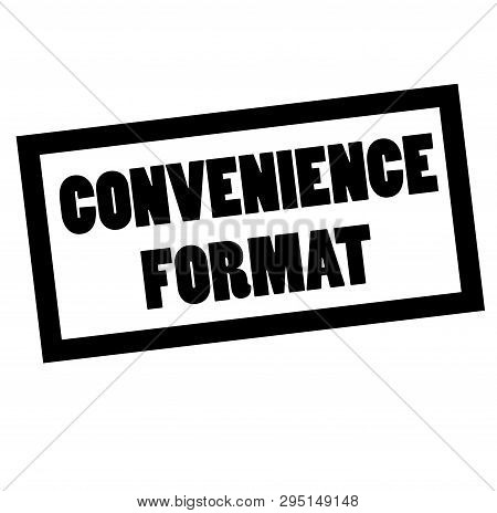 Convenience Format Stamp On White. Stamps And Advertisement Labels Series.