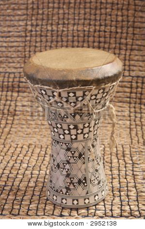 Dumbek Drum From Egypt