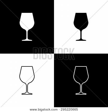 Set Wine Glass Icons Vector & Photo (Free Trial) | Bigstock