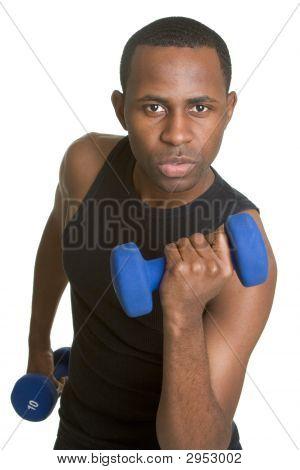 passen jungen schwarzen Mann