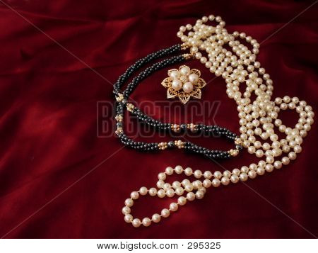 Strands And Brooch