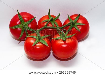 Absheron Tomatoes Grown In Greenhouses In The Month Of April