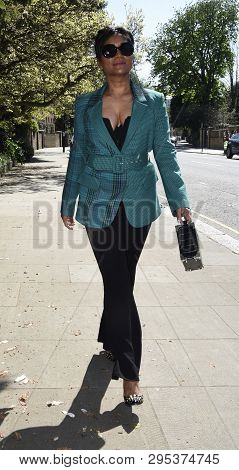 Jasmin Dhali Property Developer Out And About In London
