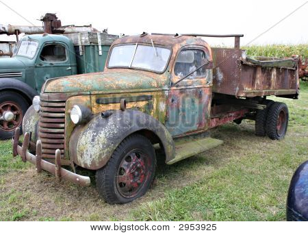 Old Truck Side