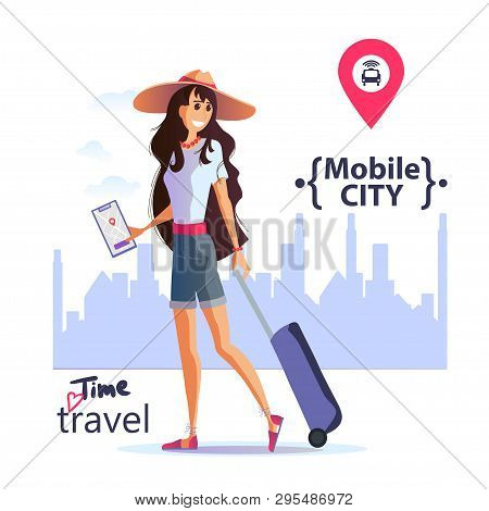 Mobile City, Safe City, Excursions. Travel Vacation Concept