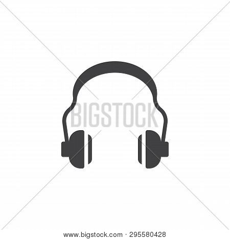 Hearing Protection Vector Icon. Ear Muffs Filled Flat Sign For Mobile Concept And Web Design. Ear Sa