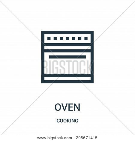 Oven Icon Isolated On White Background From Cooking Collection. Oven Icon Trendy And Modern Oven Sym