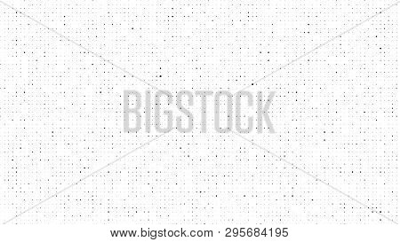 Halftone Gradient Pattern. Abstract Halftone Dots Background. Monochrome Dots Pattern. Grunge Dirty
