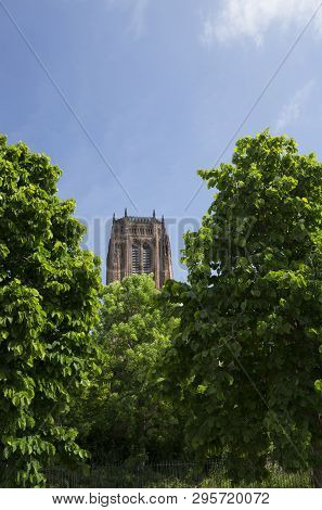 Liverpool, Uk , 24th June 2014, Liverpool Cathedral, Church Of England The Cathedral Of The Diocese