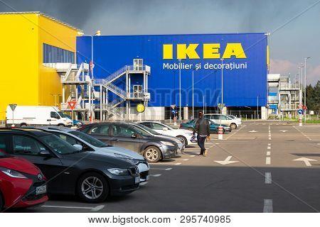 Ikea Pallady, The Second Ikea Store To Open In 2019 In Bucuresti, Romania - Outside View Of The Main
