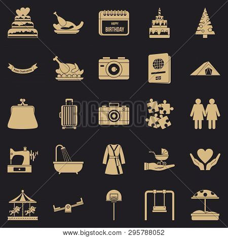 Supper Icons Set. Simple Set Of 25 Supper Vector Icons For Web For Any Design