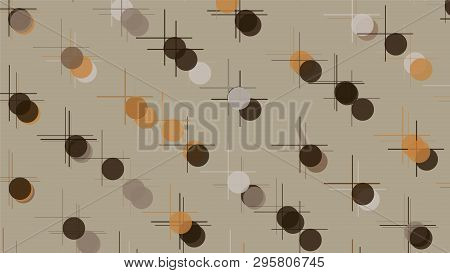 Creative Abstract Design, Vector Illustration From Random Repetitive Rectangles