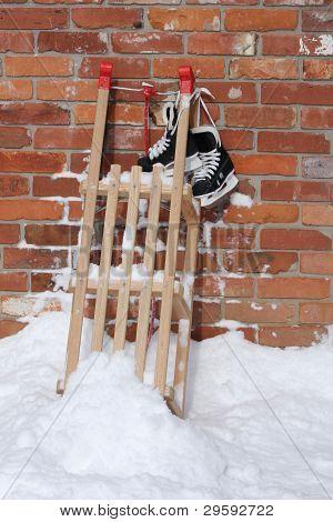 Child's Winter Sports
