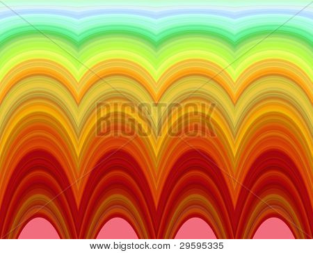 bright psychedelic pattern on abstract background