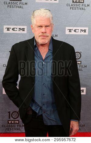 LOS ANGELES - APR 11:  Ron Perlman at the 2019 TCM Classic Film Festival Gala -