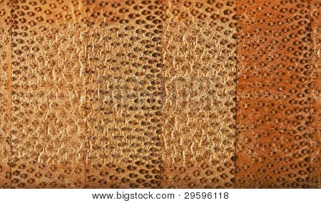 texture of the cross section of bamboo fiber board, closeup