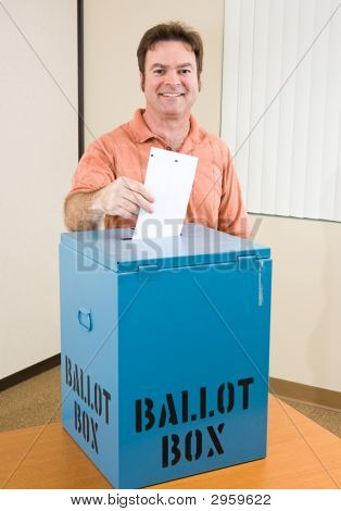 Election - White Male Voter