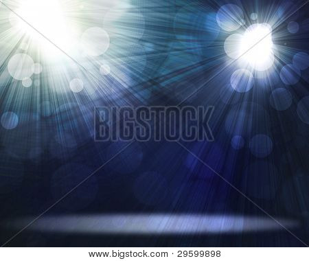 two spotlights Black and White Lighting Equipment