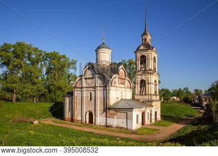 Church Of The Ascension Of The Lord Or The Church Of Isidore The Blessed On The Ramparts. Rostov Vel