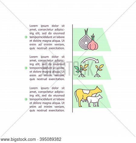 Breeding And Crop Production Concept Icon With Text. Genetically Enhanced Selection. Biotechnology.