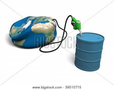 Oil Depleting