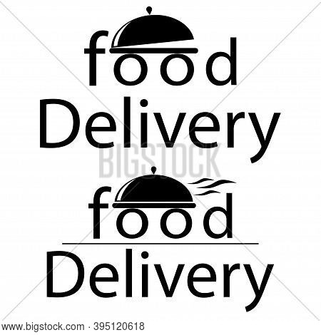 Food Delivery Icon.delivery Service Logo.vector Illustration. 10 Eps