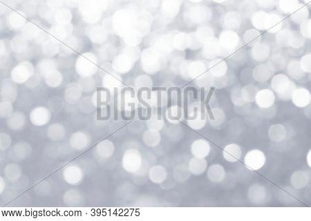 Gray defocused glittery background design