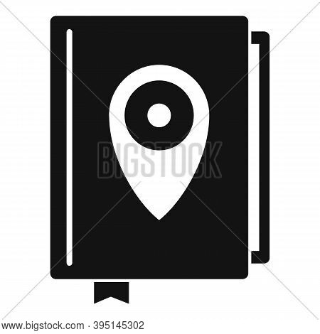 Guide Tour Book Icon. Simple Illustration Of Guide Tour Book Vector Icon For Web Design Isolated On
