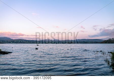 View Of The Lake Eske In Donegal, Ireland
