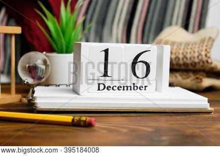 Sixteenth Day Of Winter Month Calendar December.