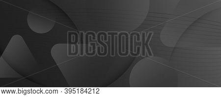Black Digital Background. Flow Abstract Stripes. Wave Dynamic Lines. Creative Digital Background. Wa