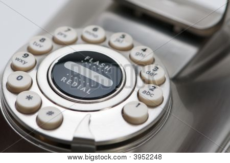 Close Up Of Phone Dial