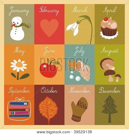 Children's Calendar