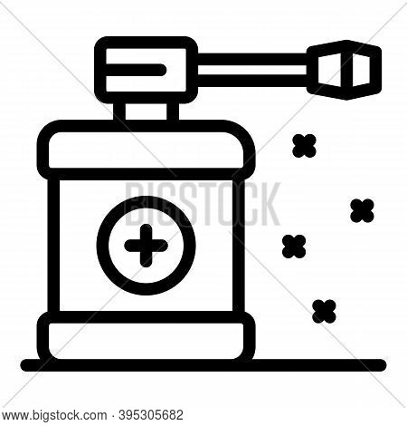 Medical Spray Icon. Outline Medical Spray Vector Icon For Web Design Isolated On White Background